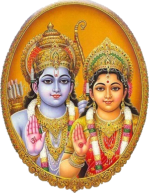 Lord Rama and Maa Sita