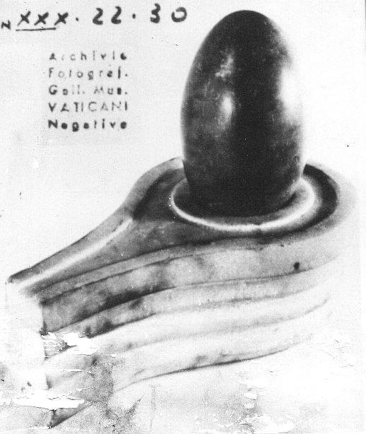 Shiva Lingam at Etruscan Museum