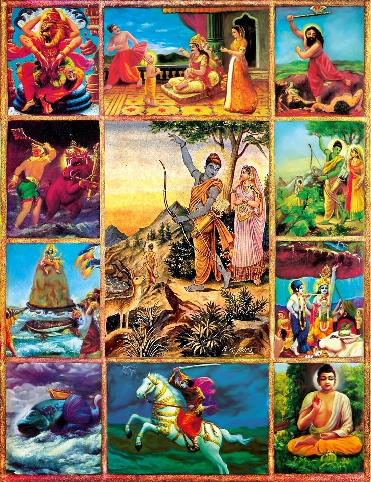 Shri Rama, the original source of all avataras