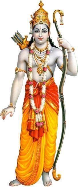 Shri Ram with Dhanush Baan